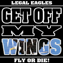 Get Off My Wings Logo