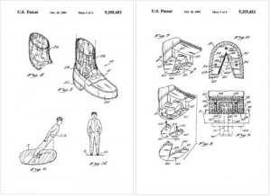 Michael-Jackson Anti-Gravity Shoes Patent