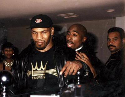 Mike Tyson Tupac Shakur
