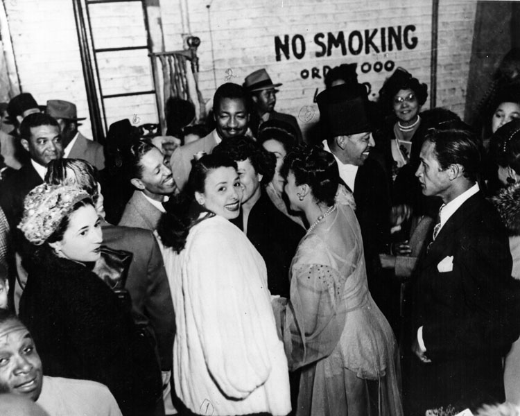Lena Horne Backstage At Sweet and Hot