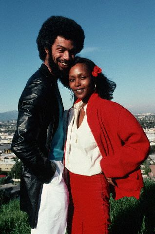 Gil Scott-Heron with Wife Brenda Sykes