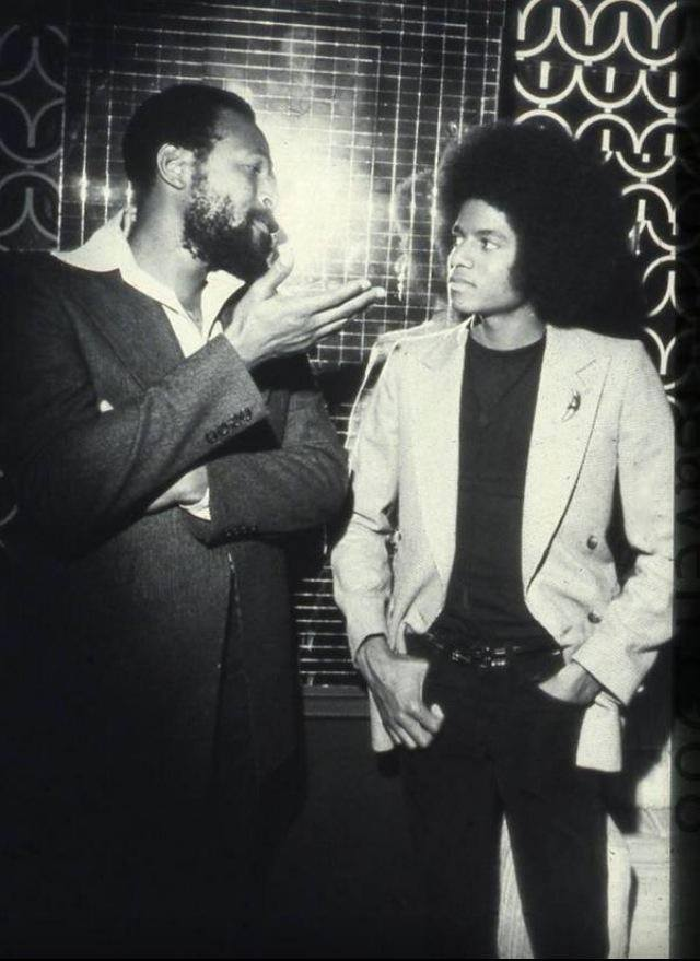 Marvin Gaye and Michael Jackson