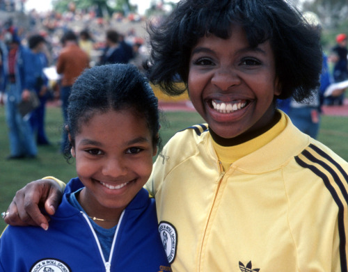 Gladys Knight and Janet Jackson