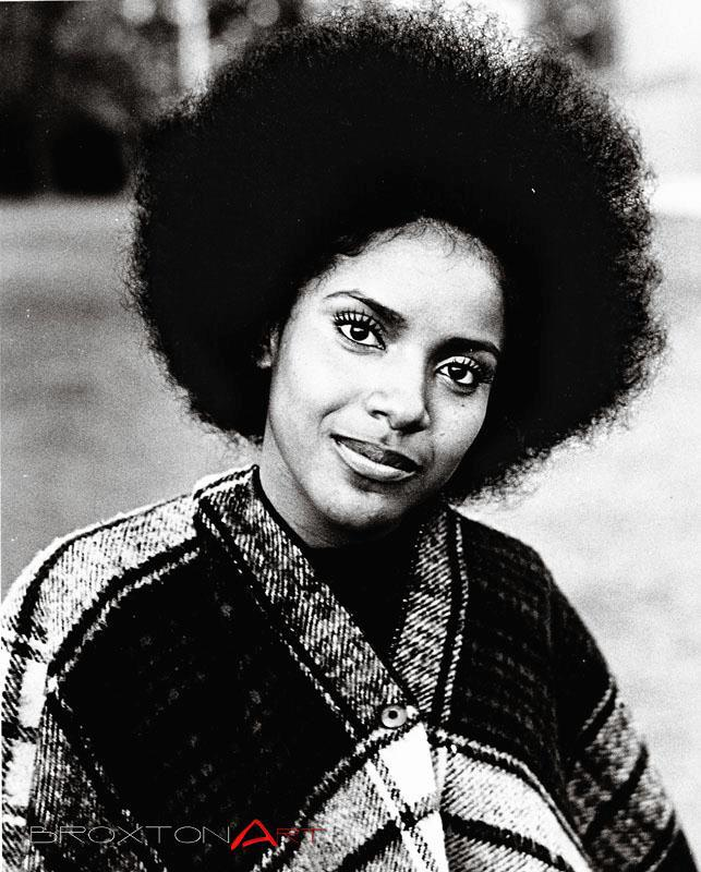 Vintage Natural Hair Beauty Phylicia Rashad