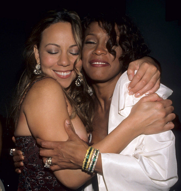 Whitney and Mariah