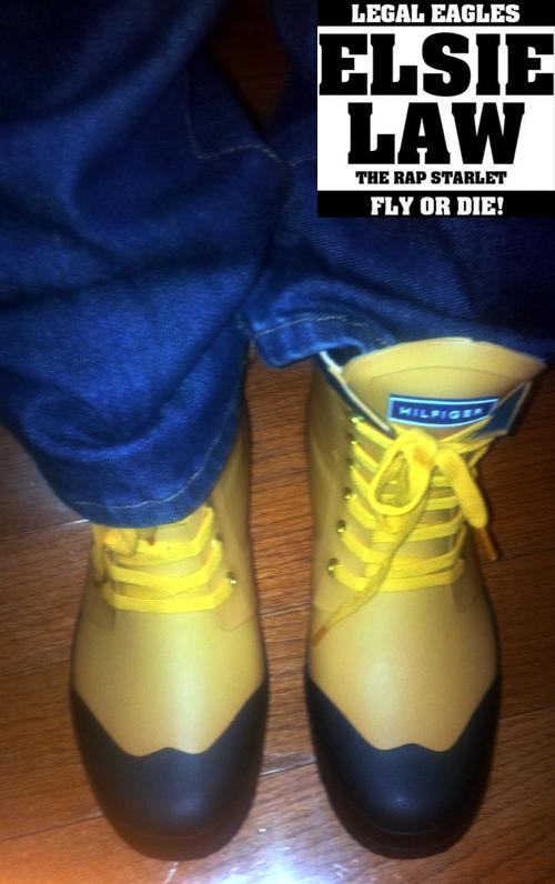 Rainy Day Shoes