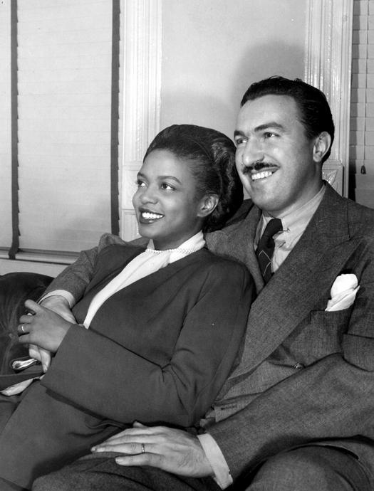 Adam Clayten Powell and Hazel Scott
