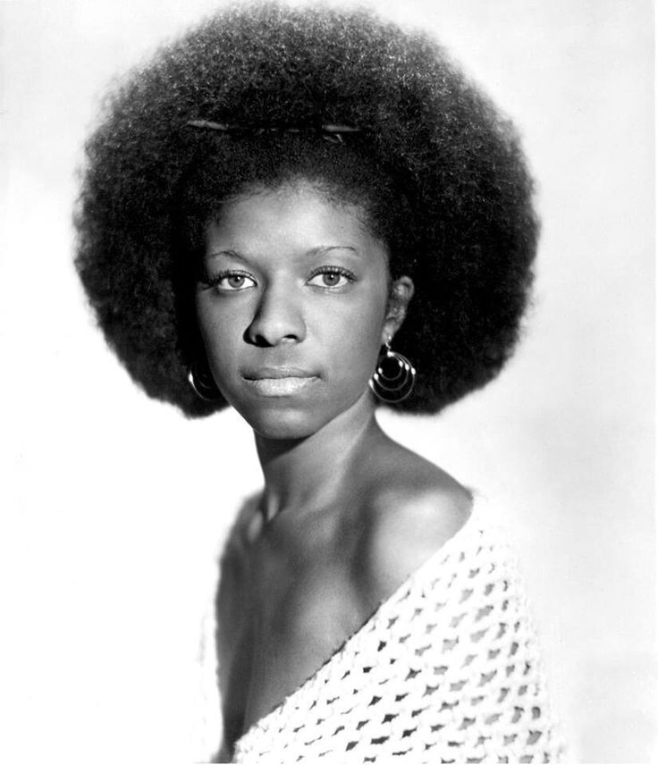 Vintage Natural Hair Beauty Natalie Cole 1