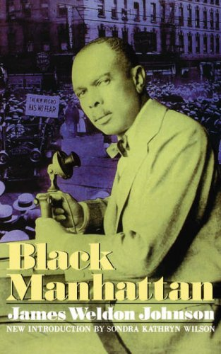 Black Manhattan James Weldon Johnson