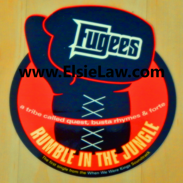 Fugees Rumble In The Jungle Sticker