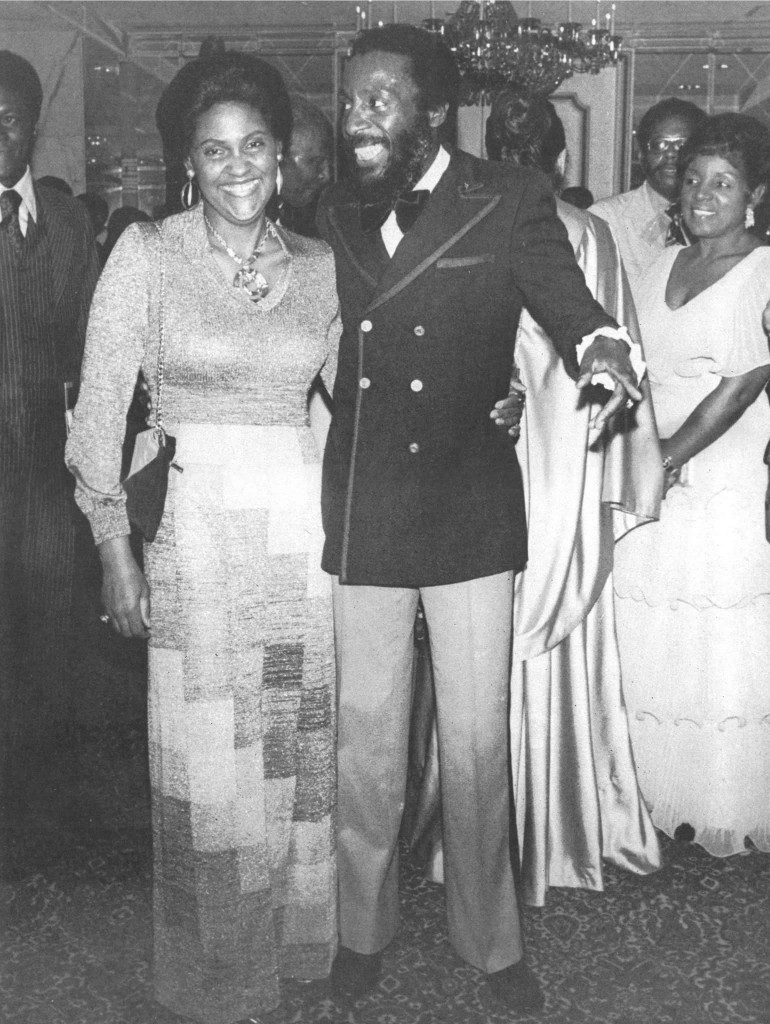 Lillian and Dick Gregory
