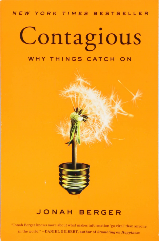 contagious jonah berger book cover