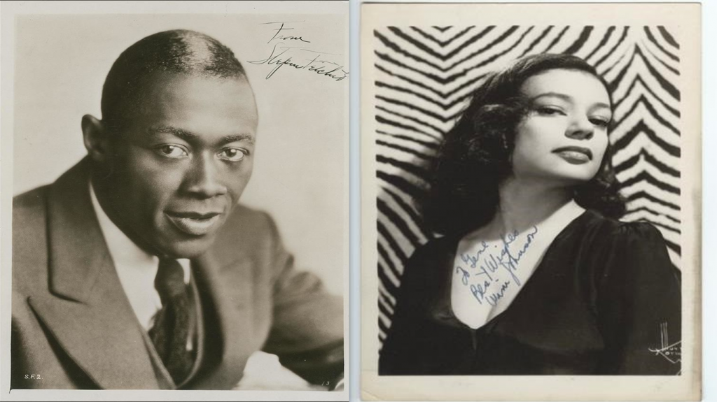 Stepin Fetchit and Winifred Johnson